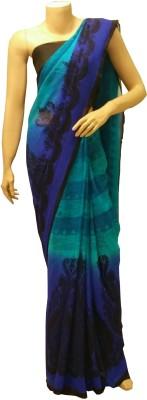 BEAUVILLE VAIIBAVAM Printed Fashion Chiffon Sari