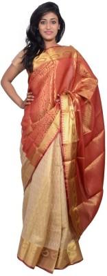 Kanchan Shree Plain Banarasi Banarasi Silk Sari