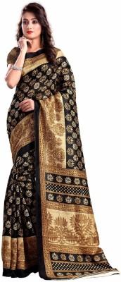 BlueGene Self Design Bhagalpuri Cotton Sari