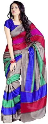 KFHub Embellished Fashion Georgette Sari