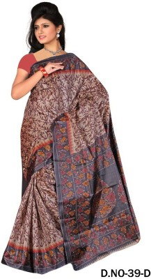Thelibazz Printed Fashion Silk Sari