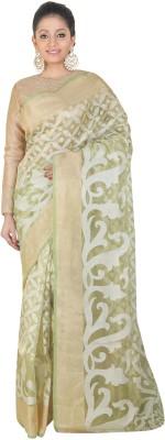 SSPK Woven Banarasi Handloom Tissue Silk Sari