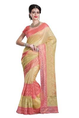 La,ethnic Embellished Fashion Art Silk Sari
