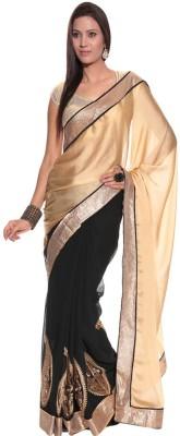 Jhankar Fab Self Design Bollywood Georgette Sari