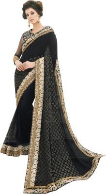 Diva Divine Embriodered Fashion Viscose, Net Sari