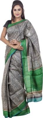 Kalaniketan RJP Group Printed Fashion Handloom Tussar Silk Sari