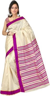 Dhanu Fashion Solid Bhagalpuri Art Silk Sari