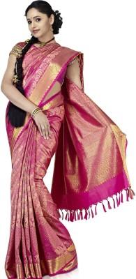 Sudarshan Silks Solid Silk Sari