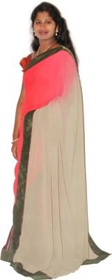 Roopascollection Printed Fashion Chiffon Sari