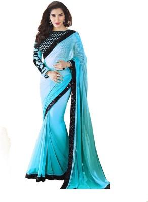 Shree Hans Creation Embellished Daily Wear Georgette Sari