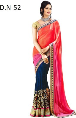 Sumitra Designs Embriodered Fashion Chiffon Sari
