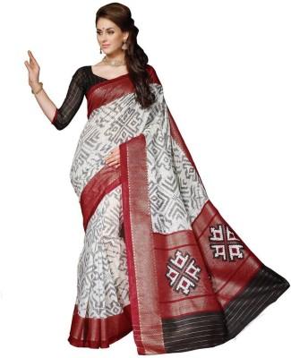 Styllaz Printed Bhagalpuri Art Silk Sari