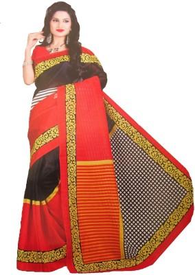 Geetanjali Printed Bhagalpuri Silk Sari