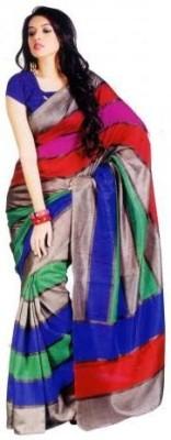 Dipak Printed Fashion Art Silk Sari