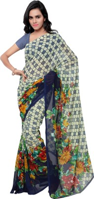 Pikasho Printed Fashion Georgette Sari
