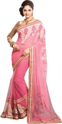 Diva Divine Embriodered Fashion Linen Sari