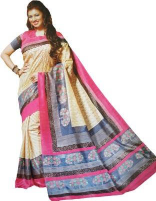 Shaarada Self Design Fashion Art Silk Sari