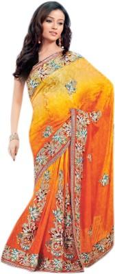 Lakmeart Embriodered Fashion Net Sari