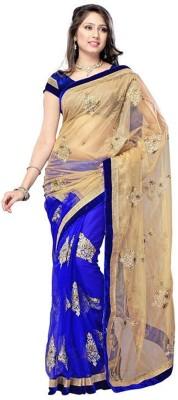 Om Sai Laxmi Creation Embellished Bollywood Net Sari