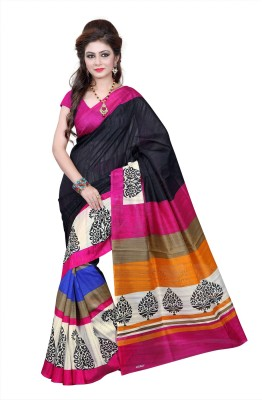 Abcd Creations Self Design Bollywood Art Silk Sari