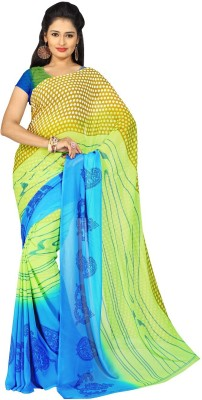 Parth Printed Fashion Handloom Georgette Sari