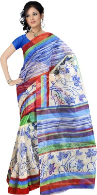 Balaji Fashions Printed Fashion Net Sari