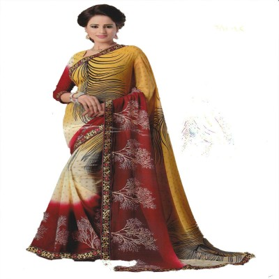 Todays Trendz Embellished Fashion Handloom Georgette Sari