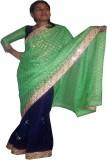 Ud Febric Self Design Bollywood Brasso, ...