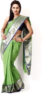Brishti Creations Woven Tant Handloom Cotton Sari