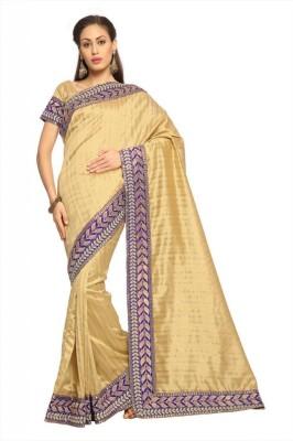 Designersareez Self Design Fashion Art Silk Sari