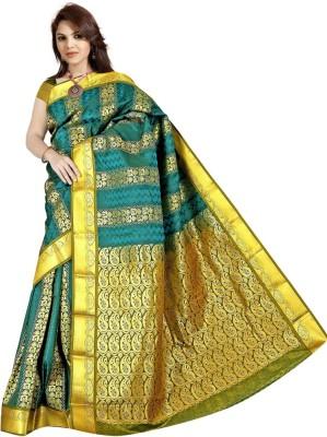 BrindavanSilks Embellished Fashion Art Silk Sari