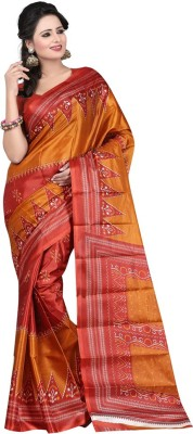 Thelibazz Self Design Fashion Silk Sari
