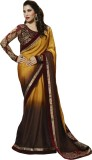 Shoppershopee Embroidered Bollywood Geor...