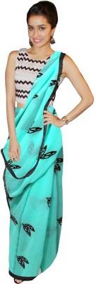 Vwaan Fashion Embriodered Fashion Georgette Sari