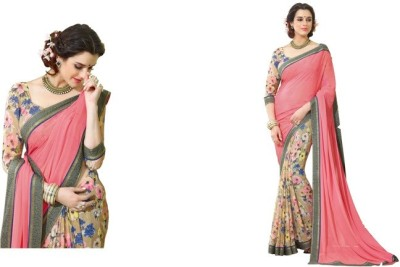 Jay Embriodered Daily Wear Handloom Georgette Sari