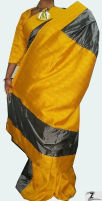 ZORIA Self Design Fashion Art Silk Sari