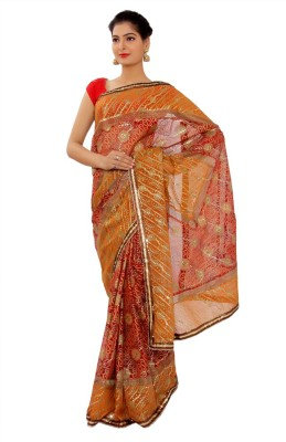Shri Narayan Fashions Embellished Fashion Synthetic Sari