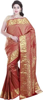 SriSyndicate Paisley Fashion Silk Sari