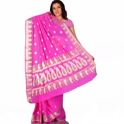 Aapno Rajasthan Printed Fashion Chiffon Sari