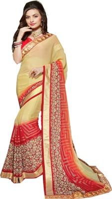 NIDHI210 Printed Fashion Georgette Sari