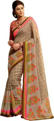 Sarika Fashion Floral Print Fashion Silk Sari
