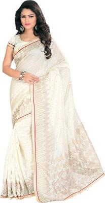 Ghanumanandco Striped Fashion Cotton Sari