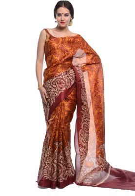NE Printed Bhagalpuri Cotton Sari