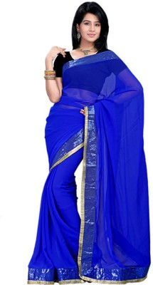 ZofeyFashion Self Design Fashion Chiffon Sari