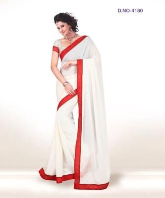 F3 Fashion Self Design Fashion Brasso Sari