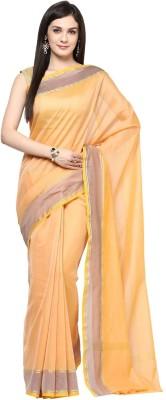Fabroop Woven Fashion Handloom Chanderi Sari