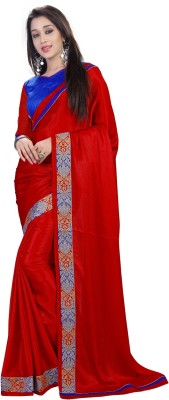 Zombom Striped Daily Wear Handloom Art Silk Sari