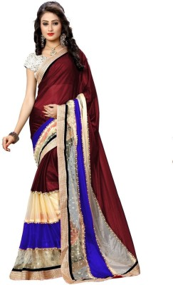Gehna Saree Embriodered Bollywood Lycra Sari