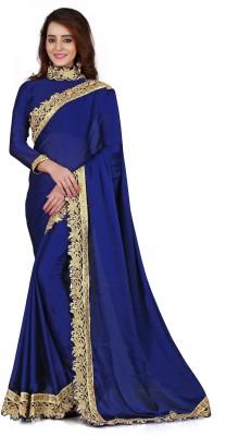 JJR Embriodered Bollywood Silk Sari