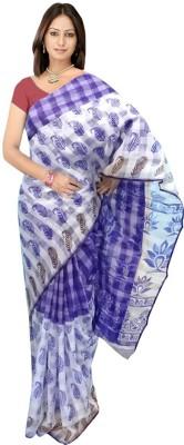 SRK GROUPS Printed Fashion Cotton Sari